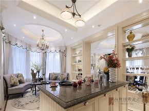 新古典 法式 别墅 跃层 复式 大户型 80后 高帅富 厨房图片来自高度国际姚吉智在680㎡法式新古典时尚独栋别墅的分享