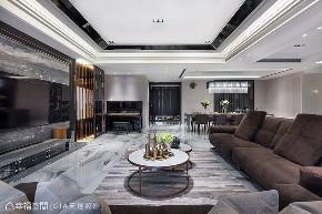 四房 现代 大户型 客厅图片来自幸福空间在层峰飨宴 淬炼198平品味精工宅的分享