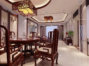 中式 南北通透 施工工地 餐厅图片来自广西品匠装饰集团在江川悦城中式风格的分享
