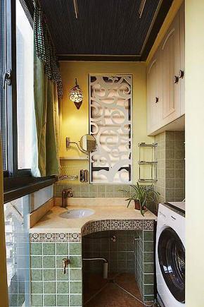 混搭 地中海 阳台图片来自优家馆装饰在简欧风里的地中海——优家馆装饰的分享