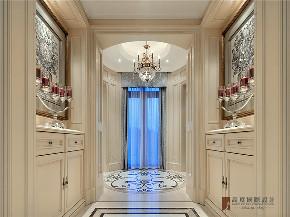 新古典 法式 别墅 跃层 复式 大户型 80后 高帅富 玄关图片来自高度国际姚吉智在680㎡法式新古典时尚独栋别墅的分享