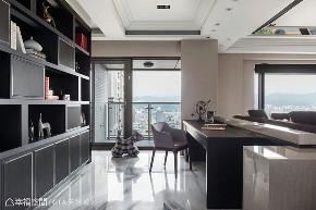 四房 现代 大户型 书房图片来自幸福空间在层峰飨宴 淬炼198平品味精工宅的分享