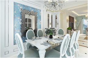 龙湖别墅 实创装饰 青岛装修 餐厅图片来自实创装饰集团青岛公司在龙湖143平欧式装修设计的分享