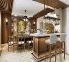 西郊明苑630平别墅现代风格设计