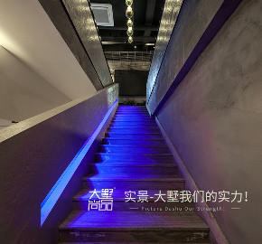 火锅店 工业风 常熟 楼梯图片来自大墅尚品-由伟壮设计在九宫格火锅店·吃货的撸火锅圣地的分享