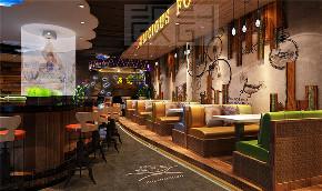 """简约 时尚 舒适 餐饮设计 餐饮装修 饭店装修 饭店设计 餐厅图片来自尚品老木匠装饰设计事务所在""""绝对牛""""时尚餐吧的分享"""