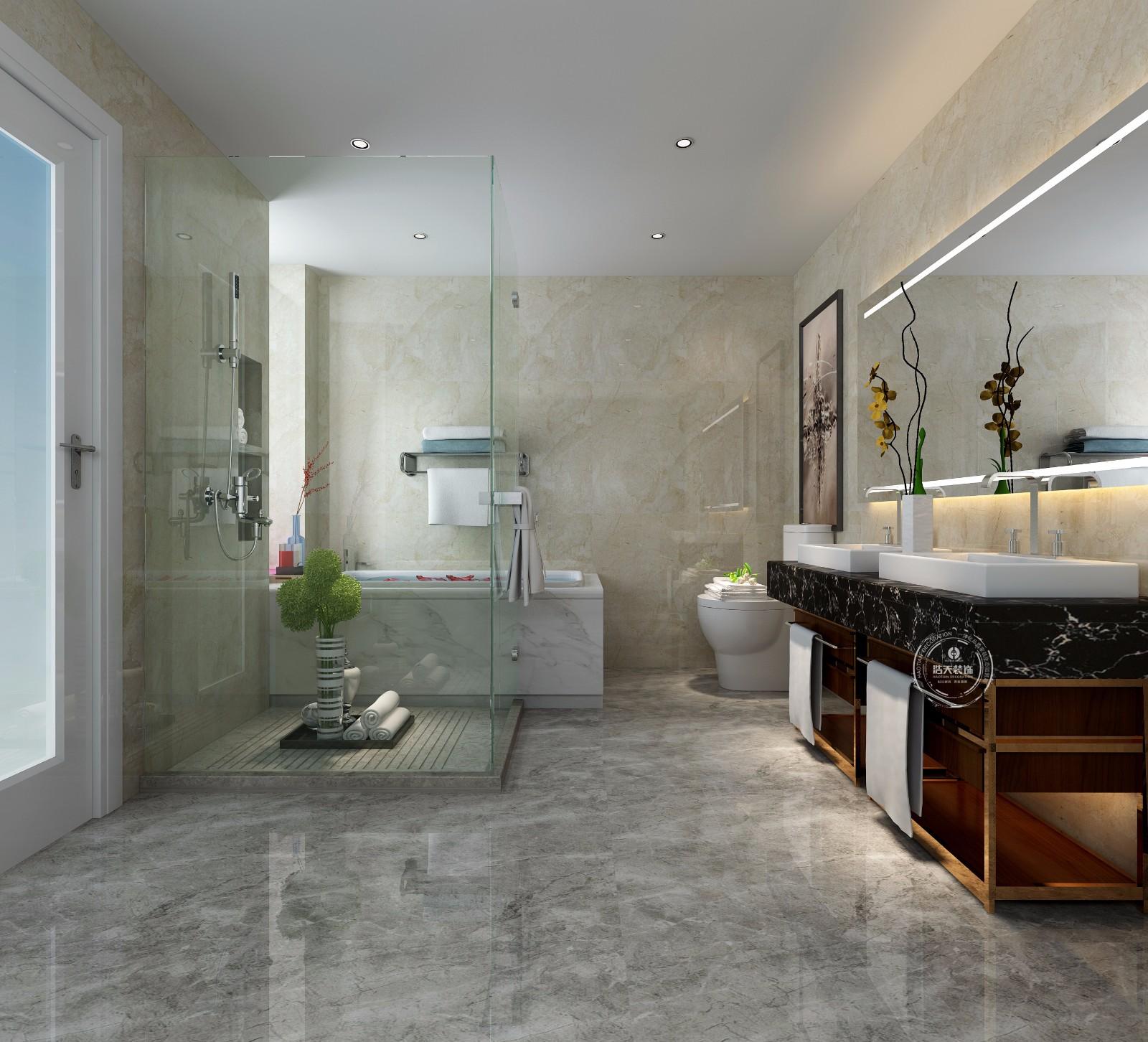 简约 卫生间图片来自深圳浩天装饰在浩天装饰-宏发领域的分享