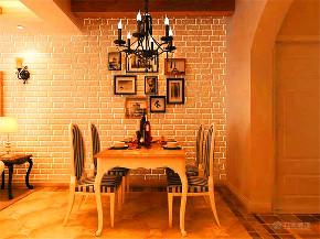 地中海 三居 白领 80后 小资 餐厅图片来自阳光力天装饰在力天装饰-盛景湾-132㎡-地中海的分享
