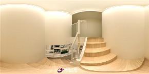 简约 凤凰soho 楼梯图片来自济南城市人家装修公司-在凤凰soho装修小复式简约风格的分享