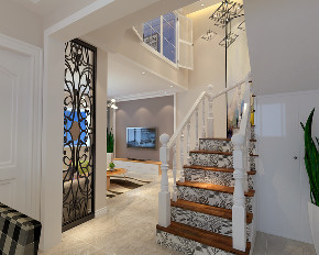 简约 楼梯图片来自装家美在老房整体翻新(优派对小区)的分享