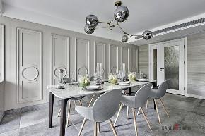 别墅 新古典 餐厅图片来自名雕丹迪在纯水岸--新古典主义--600平的分享
