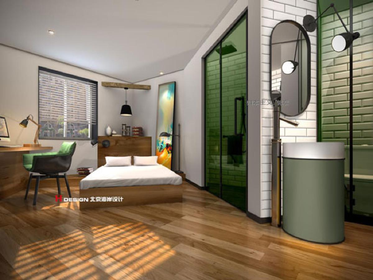 项目名称:青岛IN酒店设计 项目地址:山东青岛 项目类型:酒店设计 使用面积:2000㎡ 主创团队:北京海岸设计 总设计师:郭准先生 设计风格:归本主义