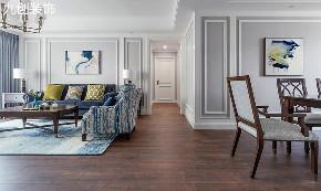 现代简美 三居 温馨 大气 天然 客厅图片来自九创装饰集团成都分公司在橡树湾B区 125 简美的分享