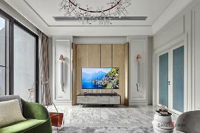 别墅 新古典 客厅图片来自名雕丹迪在纯水岸--新古典主义--600平的分享