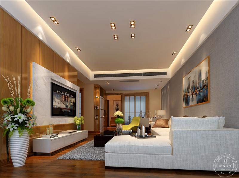 简约 三居 客厅图片来自深圳浩天装饰在浩天装饰-金地名峰的分享