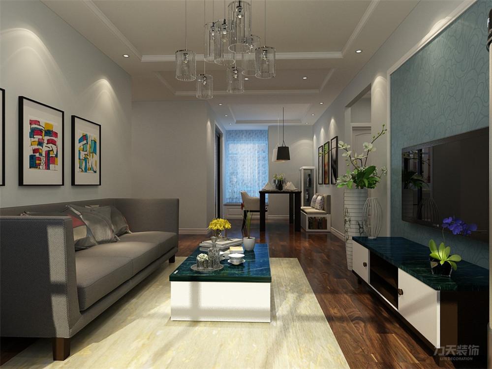 简约 现代 三居 白领 小资 客厅图片来自阳光放扉er在力天装饰-南奥九策-100㎡-现代的分享