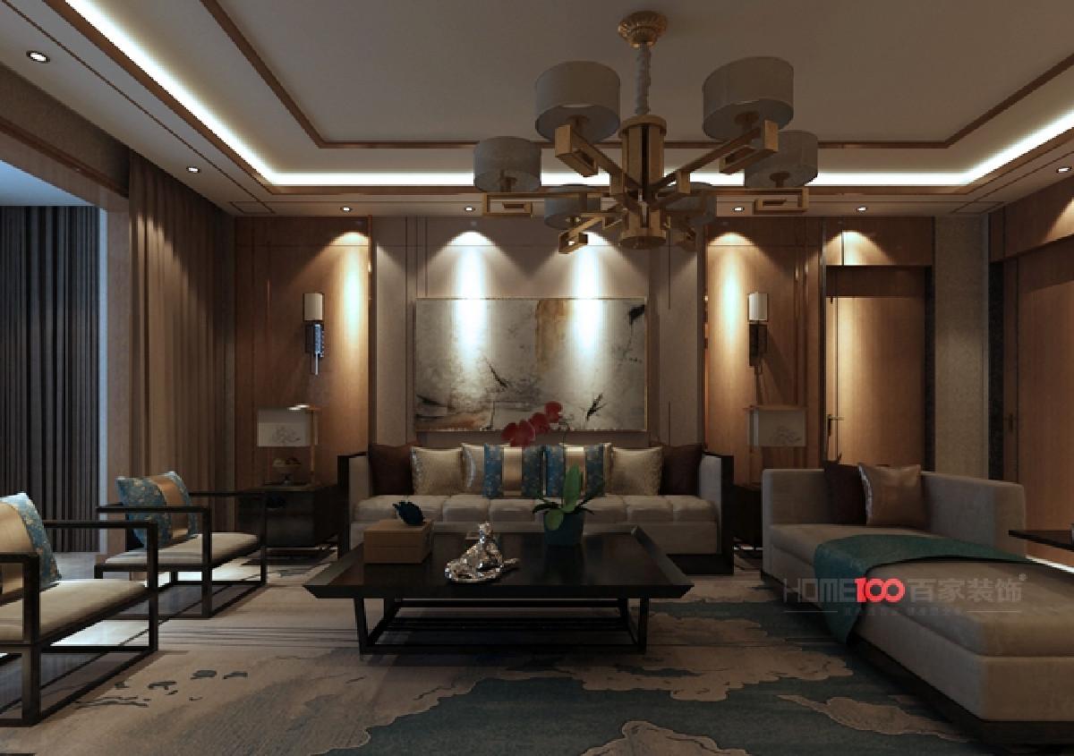 龙湖唐宁one160平新中式风格