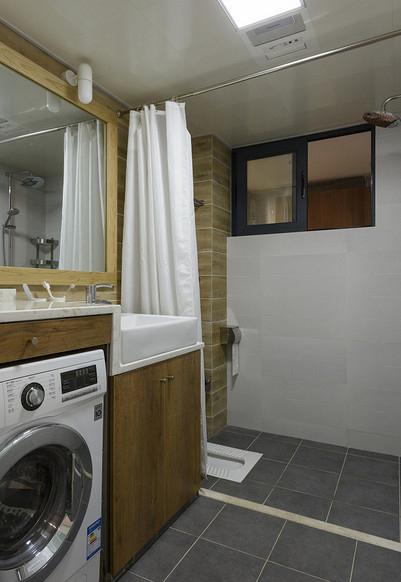 卫生间图片来自家装大管家在繁花似锦 86平森男系北欧风格居的分享