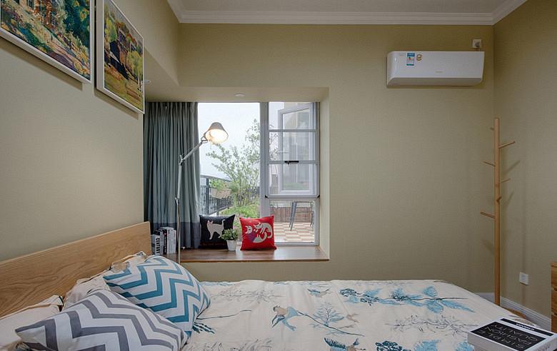卧室图片来自家装大管家在繁花似锦 86平森男系北欧风格居的分享