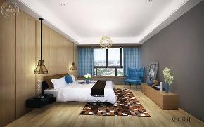 北欧 卧室图片来自深圳浩天装饰在浩天装饰-山语清晖花园的分享