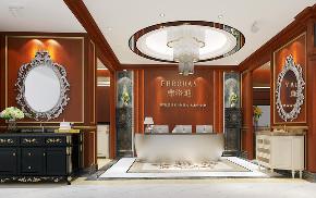 简约 混搭 白领 玄关图片来自圣奇凯尚室内设计工作室在高端卫浴柜弗洛迪展厅设计的分享