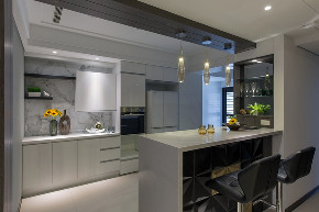 优家馆装饰 优家馆设计 轻奢现代 厨房图片来自重庆优家馆装饰在优家馆装饰-轻奢现代风格体现的分享