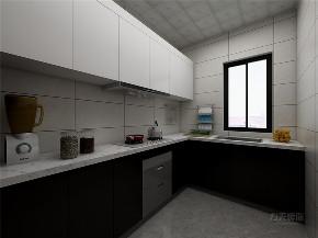 简约 现代 二居 收纳 小资 厨房图片来自阳光放扉er在力天装饰-远洋城-130㎡-现代简约的分享