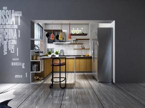 厨房图片来自我是小样在恒大国际城三室111平现代简约的分享