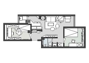 旧房改造 收纳 跃层 久栖设计 室内设计 家装设计 装修设计 朝阳北小街 北欧 户型图图片来自久栖设计在久栖设计丨朝阳北小街丨慢生活的分享