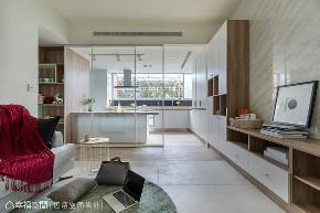 三居 北欧 旧房改造 厨房图片来自幸福空间在老屋化身83平北欧小豪宅的分享