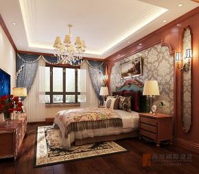 新古典 三居 四居 大户型 80后 小资 卧室图片来自高度国际姚吉智在160平米气度非凡的新古典大平层的分享