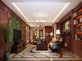 新古典 三居 四居 大户型 80后 小资 客厅图片来自高度国际姚吉智在160平米气度非凡的新古典大平层的分享
