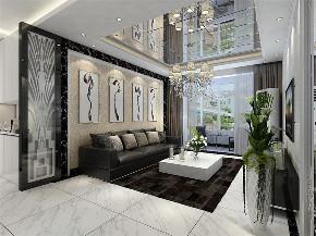 简欧风格 二居 客厅图片来自阳光力天装饰在碧水庄园-112平-简欧风格的分享