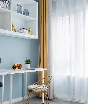 书房图片来自家装大管家在89平北欧温馨居 治愈系暖暖的家的分享