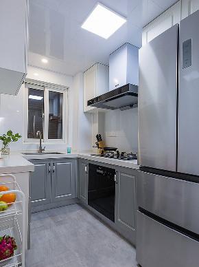 厨房图片来自家装大管家在89平北欧温馨居 治愈系暖暖的家的分享