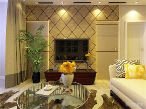 简约 二居 白领 收纳 80后 客厅图片来自阳光力天装饰在力天-中铁国际城95㎡现代简约的分享