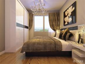 简约 二居 白领 收纳 80后 卧室图片来自阳光力天装饰在力天-中铁国际城95㎡现代简约的分享