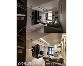 二居 客厅图片来自幸福空间在简约沉稳 73平现代风格宅的分享