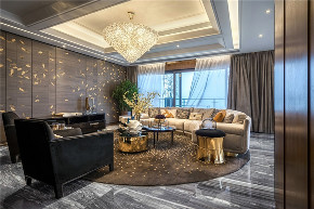 客厅图片来自我是小样在亿润·锦悦汇117平现代简约风格的分享