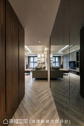 二居 玄关图片来自幸福空间在简约沉稳 73平现代风格宅的分享