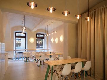 素食餐厅设计-简约时尚的美味