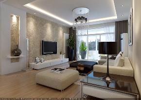 简约 三居 收纳 现代风格 装修 客厅图片来自青岛装修在青岛秀兰喜悦都102平装修设计的分享