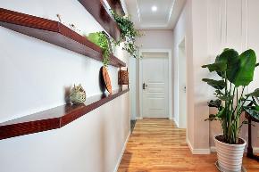 三居 玄关图片来自金煌装饰有限公司在清新自然的简美风格的分享