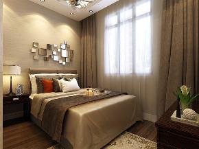三居 简约 卧室图片来自阳光力天装饰在力天装饰-金隅满堂-90㎡-现代的分享