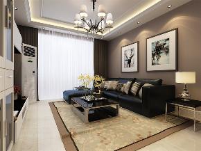 三居 简约 客厅图片来自阳光力天装饰在力天装饰-金隅满堂-90㎡-现代的分享