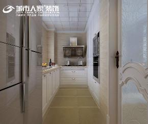 简美 幸福里 城市人家 客厅 卧室 餐厅 厨房图片来自太原城市人家装饰车涛在幸福里150平米简美风格设计的分享