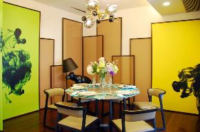 简约 现代 誉天下 别墅 小资 80后 餐厅图片来自别墅设计师杨洋在誉天下别墅软装设计现代休闲风格的分享