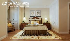 简美 幸福里 城市人家 客厅 卧室 餐厅 卧室图片来自太原城市人家装饰车涛在幸福里150平米简美风格设计的分享