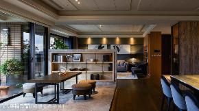 三居 现代 大户型 书房图片来自幸福空间在多元材质运用 363平现代人文宅的分享