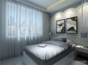 简约 现代 二居 收纳 小资 卧室图片来自阳光力天装饰在力天装饰-房信彩虹城-91㎡-简约的分享